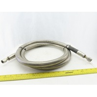 Ratermann 11/16-18  Stainless Steel 1330 PSIG Cryogenic Transfer Hose 115""