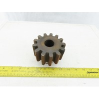 "Martin S413 14.5° 13 External Tooth Spur Gear 1-1/8"" Unfinished Bore 3-3/4"" OD"