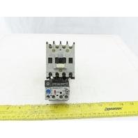 Allen Bradley 100-A18NK3 Ser.C Contactor W/24V Coil & 12-32A Overload Relay