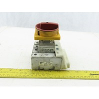 Specher + Schuh L3-80-PE 100A 600V Disconnect Safety Switch W/Operator 3 Pole
