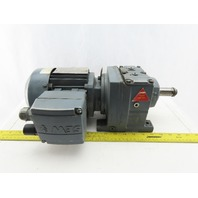SEW-EURODRIVE R37DT171C4/TF/IS 45:1 Ratio 0.25kW 38RPM 277/480V Gear Motor