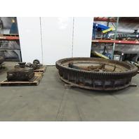 Rotek Slewing Bearing W/ Motor Gear Box Drive Pinion & Floor Mount