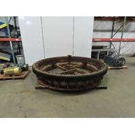 Rotek MV2510-A02 Slewing Bearing W/ Motor Gear Box Drive Pinion & Floor Mount