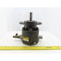 "Parker M2B90658-10 High Speed Hydraulic Motor 7/8"" Shaft 1-5/16"" Ports"