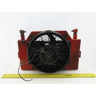 """Hayden 14-4010B1 10"""" Fan And Coolant Radiator Assembly Forklift"""