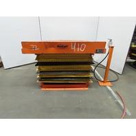 "Olympic 2000lb Pneumatic Scissor Lift Table 50""x48"" Top 12"" to 32""Lift"