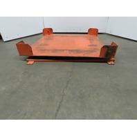 "50""x50"" Pallet/Box /Basket Material Handling 360° Turn table 4"" High"