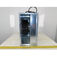 Fantech FRD20-10 115V 1Ph Inline Mixed Flow Rectangular Duct Fan