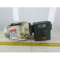 Grove HM0226-1 25:1 Ratio 70RPM 2Hp 3Ph 230/460V Hollow Shaft Gear Motor