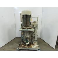 Rexroth 20Hp Hydraulic Power Unit 4000PSI 41GPM Max 60 Gal AA10VS071DR/31R Pump