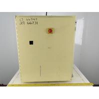 "Hoffman A363012LP 36"" x 30"" x 12"" NEMA Type 12 Electrical Enclosure W/ Extras"