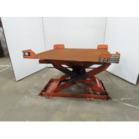 """3000LB Self Leveling Lift Table 48""""x48"""" Pallet Positioner 9-1/2"""" to 30"""" Height"""