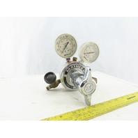 Matheson 8H-350 Dual Gauge Gas Pressure Regulator 3000PSI