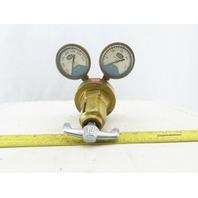 Union Carbide Linde R-81 Acetylene Gas Regulator W/Gauges