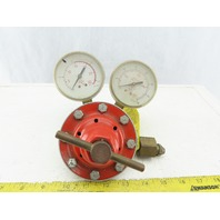 Smith H1520A-300 Acetylene Gas Regulator W/Gauges