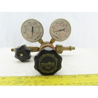 Air Products E12-J-N145D CGA Gas Pressure Regulator W/Gauges 0-3000 PSI