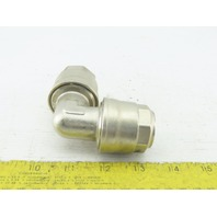 Applied Systems Infinity 25mm Brass Nickel Plated Push To Connect PEX 90° Elbow