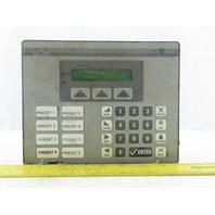 Red Lion CL10 11-30VDC Operator Interface Program Panel