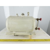 "Black Bros. Com 14"" x 12"" 11 USG Hot Oil Heat Transfer Roller Holding Level Tank"
