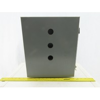 "SEC 1412CHNF Wall Mount Electrical Box/Enclosure w/ Backplate 14x12x6"""