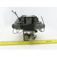 Northman SWH-G02-C6-R120-10 2 Directional Hydraulic Solenoid Valve W/Manifold