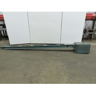 General Electric AC3P3A085 Armor Clad Busway Bus Duct/Bar 600V 800A 5 Taps