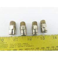 "1/8"" NPT x 1/4"" Push To Connect Male Stainless Steel Lot Of 4"