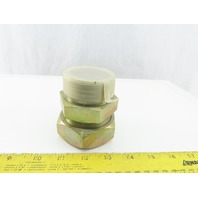 "2"" NPT Male x 2"" Flareless Compression Hydraulic Adaptor"