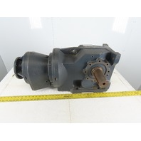 Hub City HW20-42EL Gear Box Speed Reducer 641.1:1 Ratio 143TC Helical-Worm Drive