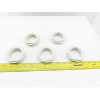 Lapp Kabel Skindicht 63x1.5/50x1.5 Internal External Thread Lock Nut Lot Of 5