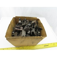"phd PHD4IP 3/8"" Malleable Iron Hanger Rod Beam Clamp Lot Of 50"