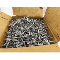 "Fastenal ABL68A 3/16"" Dia .376-.500"" Grip Range  Aluminum Rivet Lot 250"