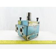 Micro Precision MPJ 3-2 2V OIL Rotac 1000PSI Hydraulic Single Vane Actuator 280°