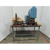 "Teledyne/Kenco 5K-7-150 OB Punch Press 5 Ton 1-1/2"" Stroke 4-1/4"" Throat 115V"