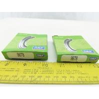 "SKF 9878 Nitrile Oil Seal  CRWA1 Design 1"" Shaft Lot Of 2"