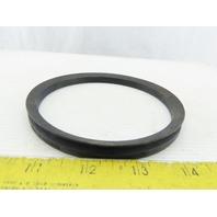 """Chicago Rawhide 401300 V-Ring 4.920"""" 5.320"""" Shaft Range NBR Seal"""