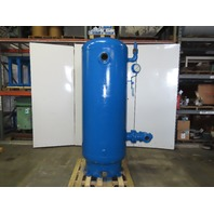 Morrison Bros. 475 Gallon Vertical Compressed Air Receiver Storage Tank 125 PSI