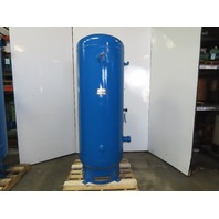 Gardner Denver 68F33 320 Gallon Vertical Compressed Air Receiver Tank 150 PSI