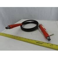 "SPX Power Team 3/8"" High Pressure 10,000 PSI Hydraulic Hose 3/8"" NPT 6' Long"