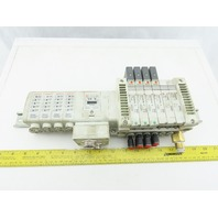 SMC EX250 Series DeviceNet Pneumatic Logic I/O Assembly