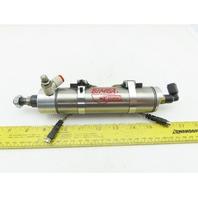 "Bimba NRM-174-D 1-9/16 Bore 4"" Stroke Double Acting Pneumatic Cylinder"