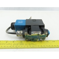Vickers DG4V-3S-2A-M-FW-B5-60 Solenoid Operated Hydraulic Directional Valve 120V