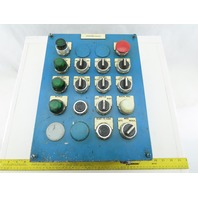 Hoffman Operator Control Station With Switches and Digital Counter