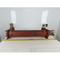 Ingersoll Rand 06036 35247501 300°F 300/150 PSI Shell And Tube Heat Exchanger
