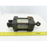 """Double Action Hydraulic Cylinder 3-1/2"""" Bore 2"""" Stroke Pivot Mount"""