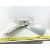"S-26-11 26"" OD x 6-1/2"" Wide 4 Blade Axial Fan Blade Propeller Assembly"