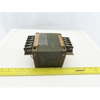Powertran 204 0121 Transformer 460/230/208/115 Primary 110/6.3 Secondary