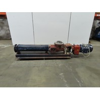 Seepex BM 70-12 8x6 Progressive Cavity Pump 15Hp  460V 3Ph