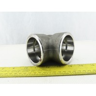 """3M A/S A105 2-3/8"""" Socket Weld Pipe Fitting  90° ELBOW"""
