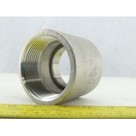 "2-1/2"" x 2"" NPT Stainless Steel Reducer Coupling"